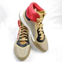 Adidas Marquee BOOST Gold Red Basketball Shoes G27742 Sz 10.5 NIB - $89.97