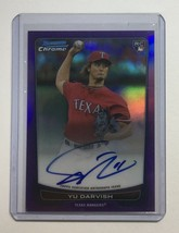 Limited To 10 Sheets Darvish Direct Writerokie Sign 2012 Bowman Chrome D... - $758.71