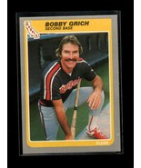 1985 FLEER #302 BOBBY GRICH NM ANGELS - $0.99