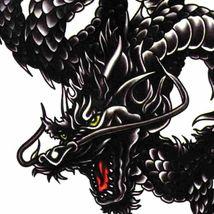 Men / Women Fashion Temporary Tattoo Dragon Pattern Body Art Waterproof Sticker image 6