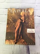 La Perla Pantyhose 15 Den Semi Opaque Black Stockings Hosiery Size 4 Vin... - $44.54