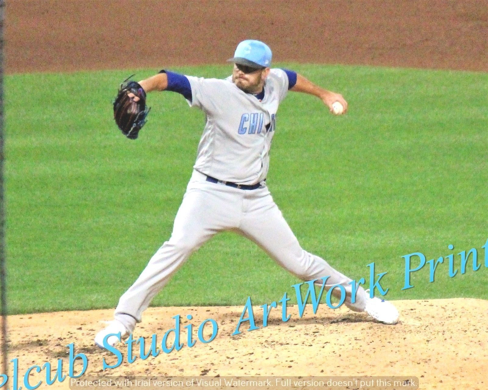 Original Brian Duensing Chicago Cubs Game Action Pic Various Sizes PhotoArt - $3.99 - $25.99