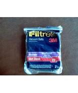 filtrete 3M vacuum belts hoover wind tunnel style 160 ( 2 belts ) - $11.88