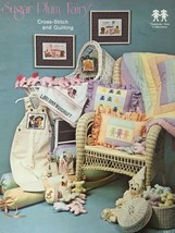 Sugar Plum Fairy Cross Stitch Patterns Quilting Vanessa Ann Collection N... - $4.00
