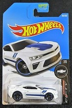 2017  Hot Wheels  White '16 Camaro SS Camaro Fifty Series  Card #265  29... - $2.25