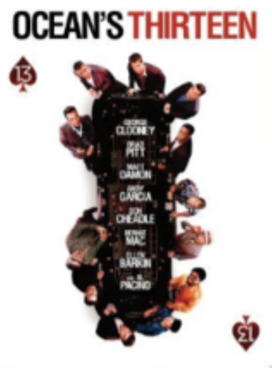 Ocean's Thirteen Dvd
