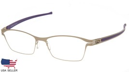 NEW PRODESIGN DENMARK 6141 c.2021 GOLD EYEGLASSES FRAME 53-17-135mm Japa... - $123.73