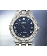 Femmes Elgin La Defense 24mm Quartz Diamant Robe Montre, C.2000s Suisse ... - $494.00