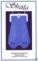 Barbara Pratt Shelia Beaded Knit Purse Pattern #0013 Knit Bead Pattern L... - $10.75