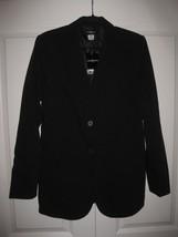 Liz Claiborne womens size 8T black button blazer jacket career NEW NWT  - $29.99
