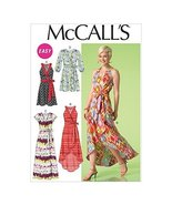 Mccall's Patterns 7119 E5 Sizes 14/16/18/20/22 Misses Dresses Sewing Pat... - $14.21