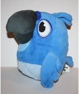 "ANGRY BIRDS Rio Plush Blue Bird 8"" SOUND Soft Toy Stuffed Animal Commonw... - $14.48"
