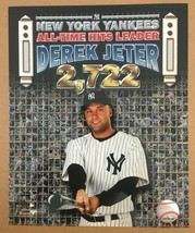 Derek Jeter All Time Hits Leader Glossy Photo 8 X 10 New York Yankees DM1 - $5.99