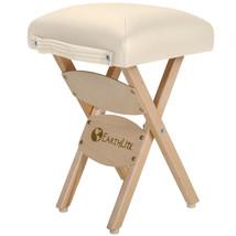EARTHLITE Massage Therapist Stool - Folding Massage Stool, Hardwood Mapl... - $95.00