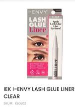 KISS NEW YORK PROFESSIONAL IEK i ENVY LASH GLUE & EYELINER CLEAR KLGL02 - $8.70