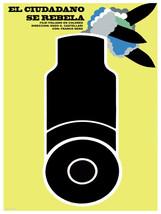 El Ciudadano se rebela vintage POSTER.Graphic Design.Wall Art Decoration... - $10.89+