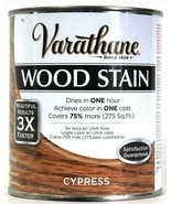 1 Can Varathane 32 Oz Wood Stain Results 3X Faster 266254 Cypress Dry In... - $22.99