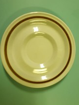 Vintage Genuine Stoneware Plate Saucer Made in Japan beige Speckled  - $4.99