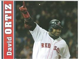Boston Red Sox David Ortiz Big Papi 2005 Pinup Photo 8x10 - $1.75