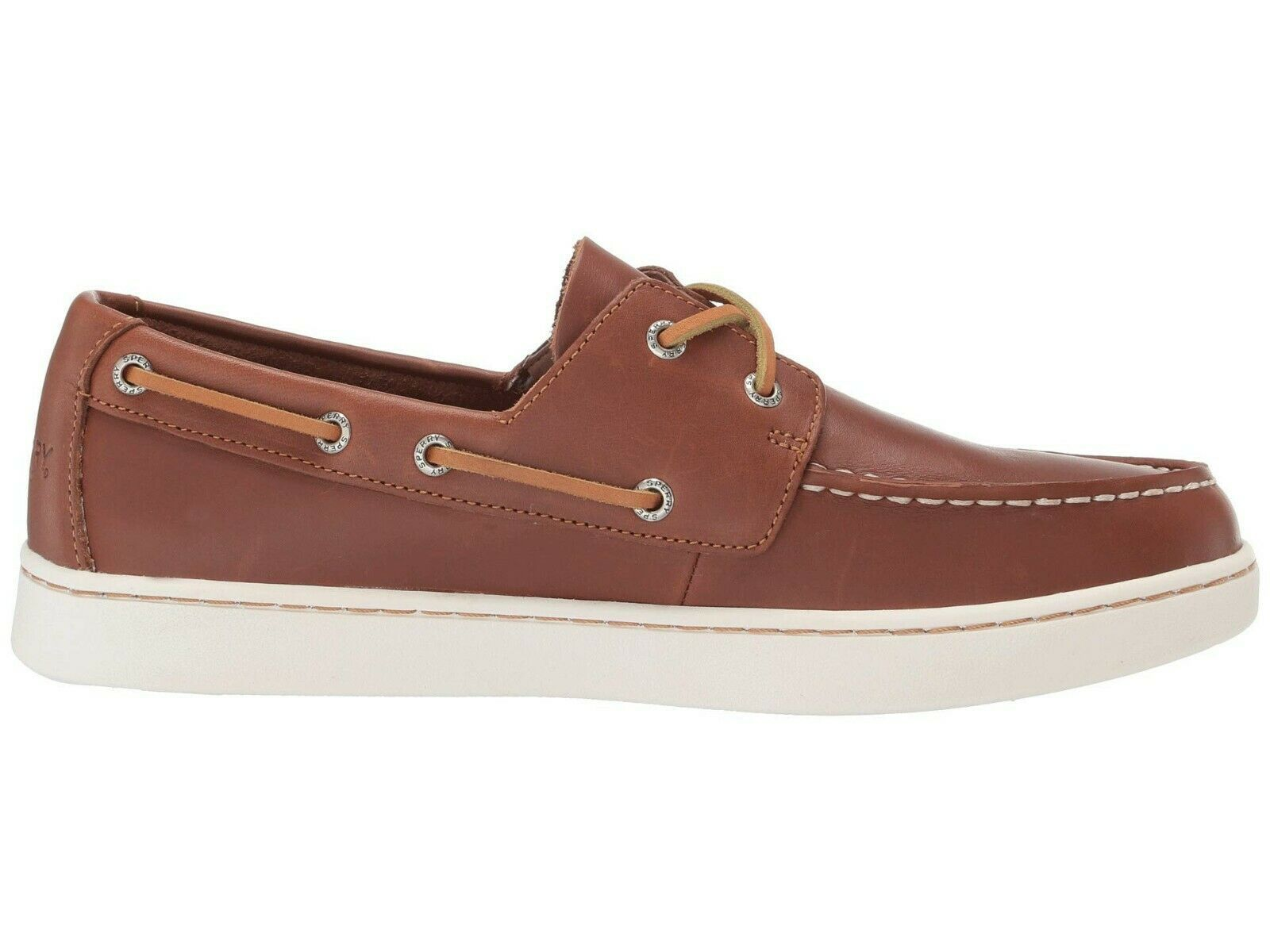 Men's Sperry Top-Sider Cup 2 Eye Leather Oxford, STS18791 Multiple Sizes Tan image 6