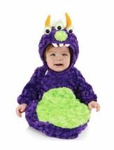 Underwraps Belly Babies Buntings 3-EYED Monster Kid's Halloween Costume New - $19.79