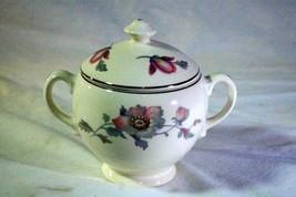 Salem China Bryn Mawr Footed Covered Sugar Bowl - $8.88