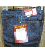 Wrangler Rustler Junior Jeans New with Tags 7P 2 Pairs Vintage Classic - $38.00