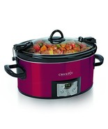 Crock-Pot SCCPVL610-R-A, 6 Qt, Red - $58.72