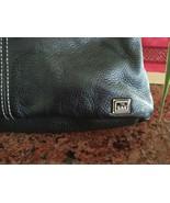 The Sak Iris Small Hobo Purse Shoulder Bag Handbag Zip Pockets ~ BLACK L... - $59.39