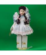 "1989 17"" Franklin Heirloom Porcelain Doll, Mary Mary By Helen Kish - $16.95"
