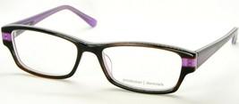 New Prodesign Denmark 1748 6432 Semi Brown /PURPLE Eyeglasses Frame 51-15-135mm - $67.82