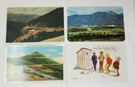 Set of 4 Vintage 1960s Colorado Postcards Photographs Air Force Academy ... - $13.85