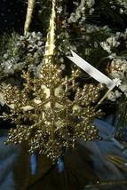 Vintage Inspired Spun Cotton, Hanukkah Girl - Snowflake #136 image 2