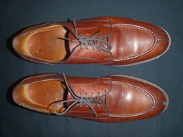 Allen Edmonds Mens Bradley Split Toe Oxfords Lace Up Shoes Brown 12.5 C ... - $93.39