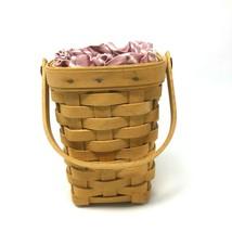 Longaberger 1998 Horizon of Hope Basket American Cancer Society & Inserts - $15.83