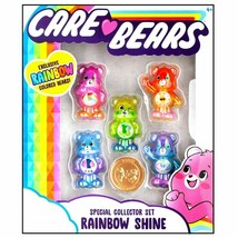 NEW! 2020 Care Bears Rainbow Shine Collectors Set + Care Coin - FREE SHI... - $29.65