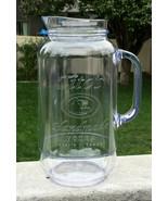 Tito's Handmade Vodka Plastic Mason Jar Pitcher 80 oz BPA free 10 cup em... - $23.71