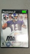 Madden 2002 Playstation 2 PS2 Complete In Box W/ Manual Cib - $4.70