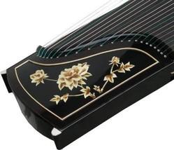 Chinese 21 string zither Ebony GuZheng - $8.06