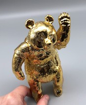 Sofubi Toy Box - Gold Panda (Rare Show Exclusive) image 6