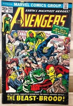 THE AVENGERS #105 (1972) Marvel Comics Black Panther VG+ - $9.89