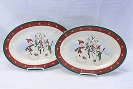 "Royal Seasons Platters 14.375"" Lot of 2 - $39.19"