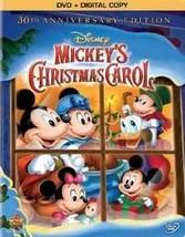 DVD - Mickey's Christmas Carol (30th Anniversary - Special Edition DVD +... - $18.94