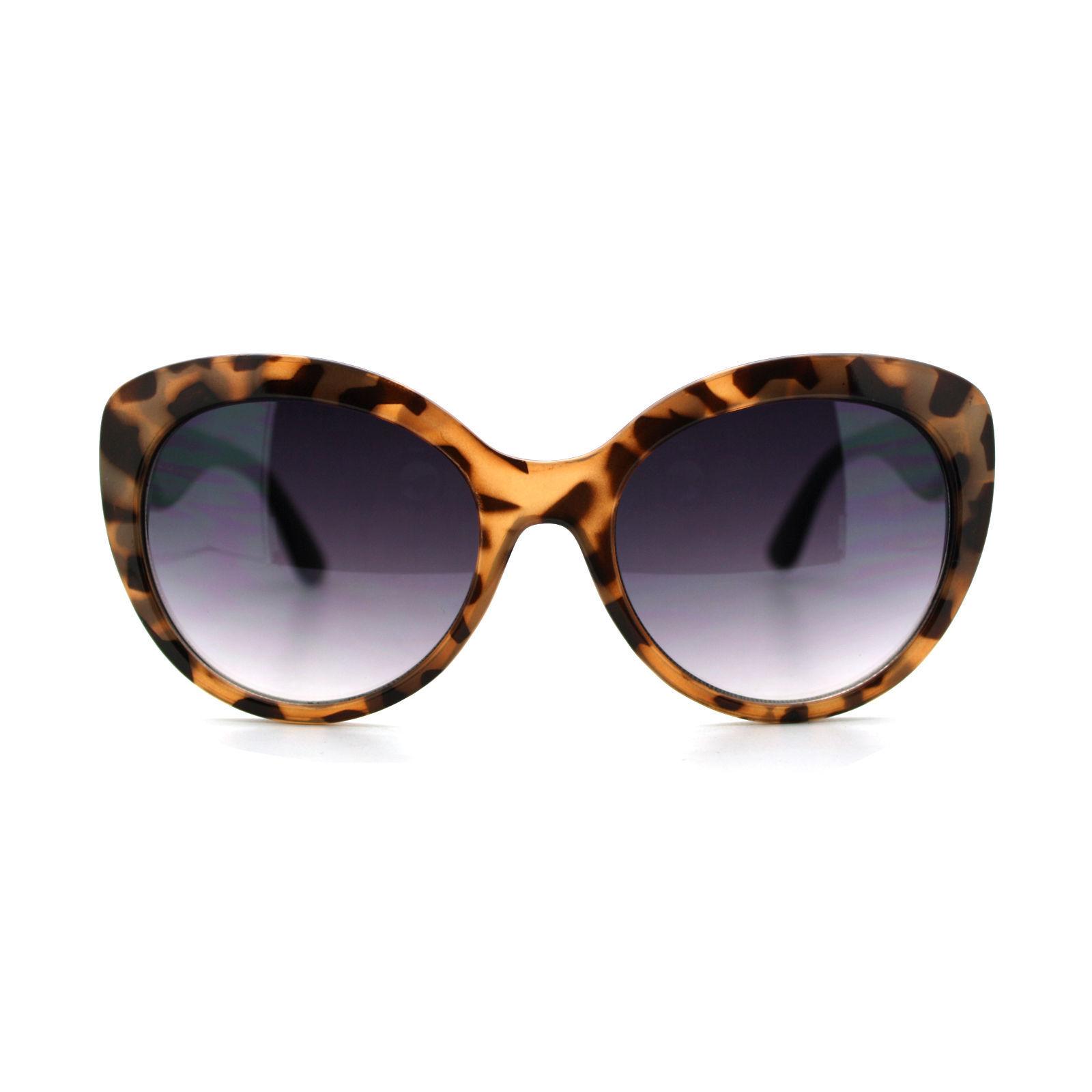 Womens Fashion Sunglasses Stylish Round Butterfly Frame