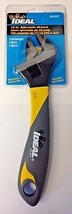 """Ideal 35-021 10"""" Adjustable Wrench Narrow Profile Extra Wide Jaw - $13.86"""