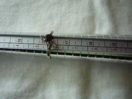 Vintage sterling garnet ring - $40.00