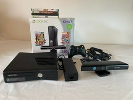 Microsoft Xbox 360 Kinect Holiday Bundle 250GB Glossy Black Console, Extra Games - $272.89