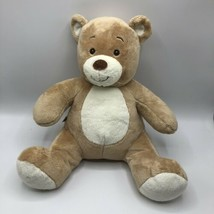 "16"" Asthma & Allergy Friendly Soft Tan and Brown Build a Teddy Bear Plus... - $19.79"