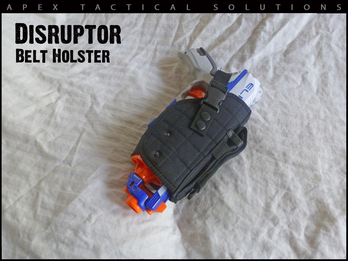 Adjustable Nerf Holster I know, I'm anti-guns. Boys love them