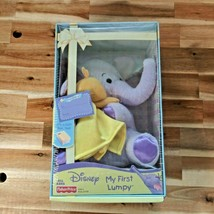 Disney Fisher Price My First Lumpy Plush Toy in Gift Box Brand New Sealed - $18.80